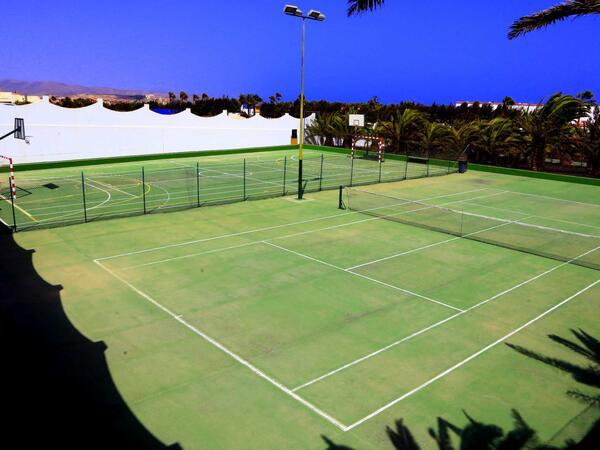 Tennis Court At Labranda Golden Beach