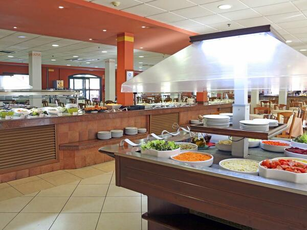 Buffet Tables In Traviata Main Restaurant