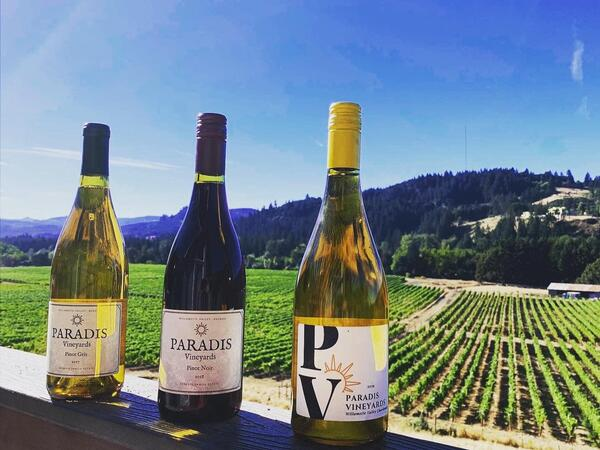 Paradis Vineyards Wine