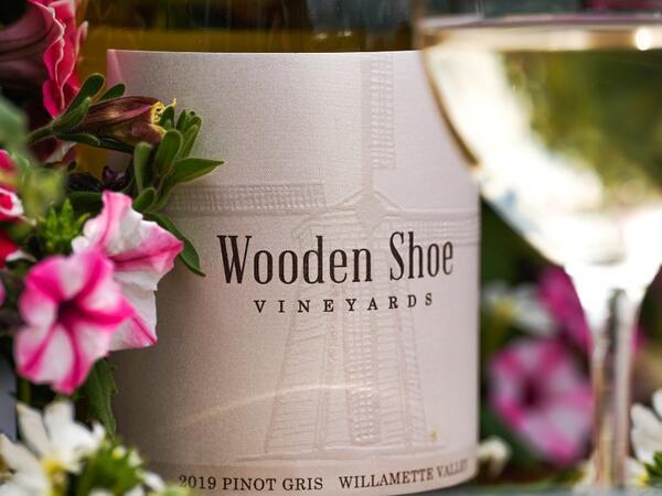 Wooden Shoe Vineyards Bottle of Wine
