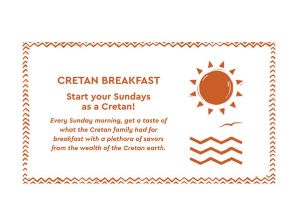 Cretan breakfast at Agapi Beach Resort