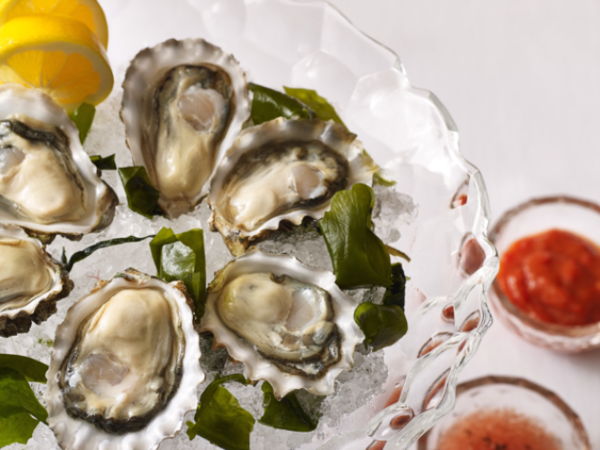 A beautiful place of oysters