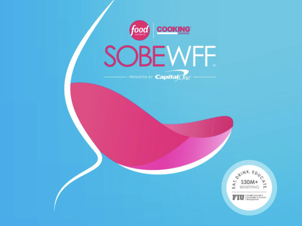 The South Beach wine and food festival poster