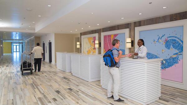 Warwick Bahamas Lobby