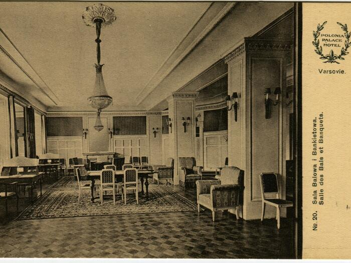 Antic Photo - Interior Polonia Palace Hotel Warsaw