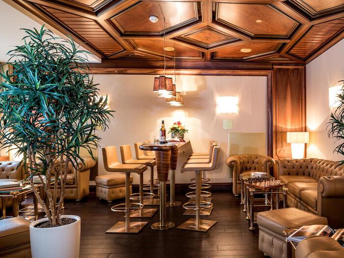 Cigar Lounge at Hotel Sternen Oerlikon in Zurich