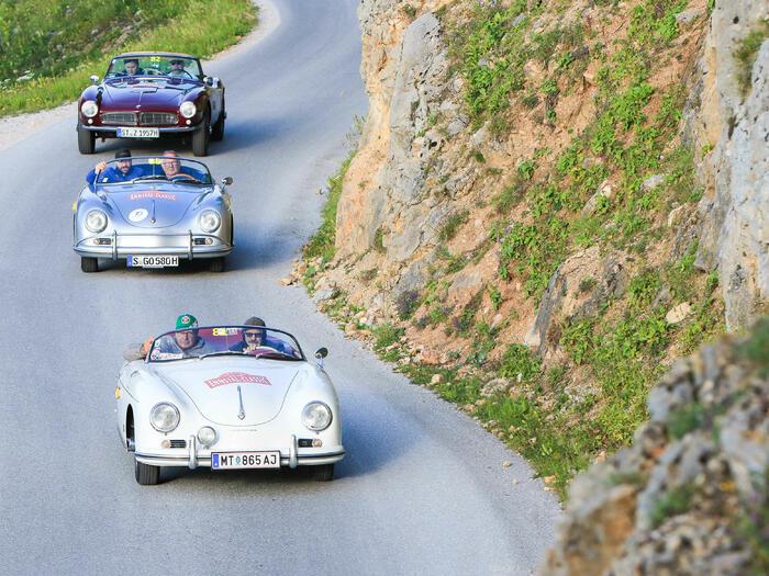 Cars at Romantik Hotel Schloss Pichlarn, Austria