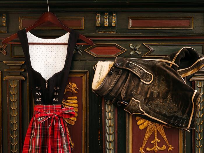 Traditional Austrian Costumes at Romantik Hotel Schloss Pichlarn