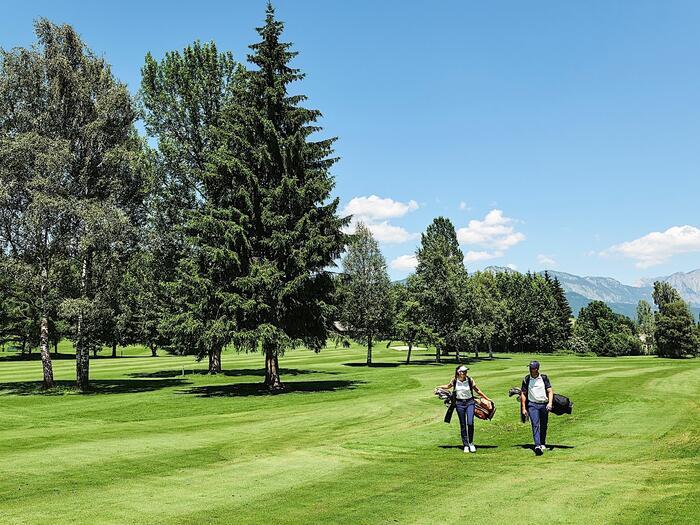 Golf at Romantik Hotel Schloss Pichlarn, Austria