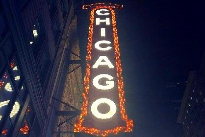Chicago Theatre Signage