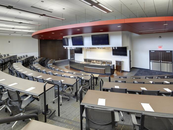 Large auditorium event space