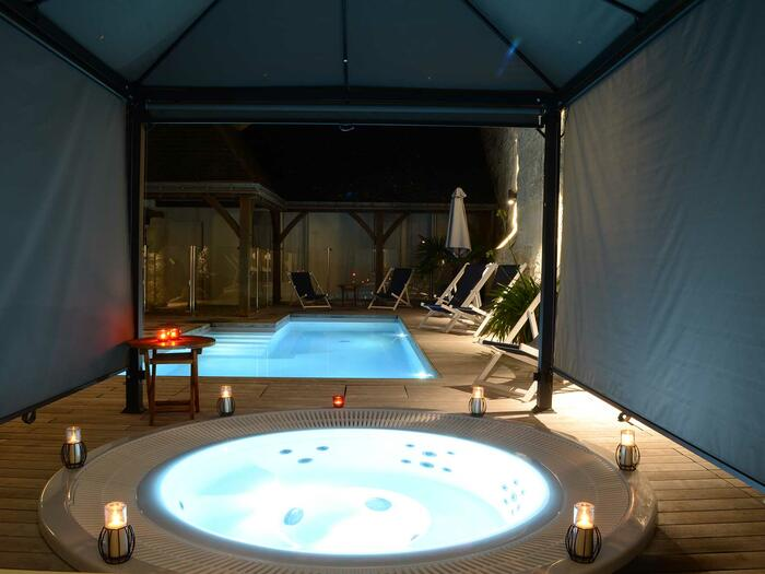 Spa at Hotel Anne d'Anjou in Saumur, France