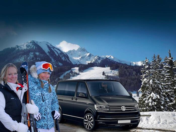 Gentianettes ski bus service private shuttle