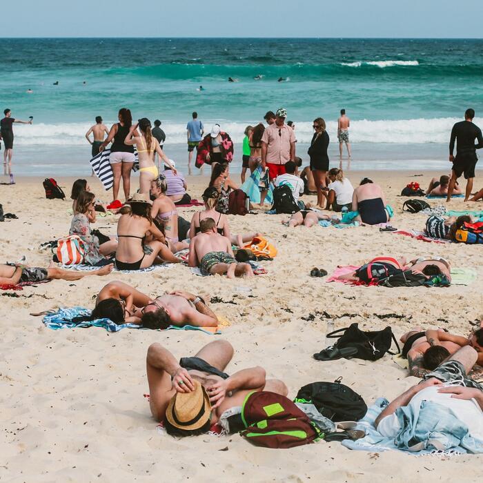 Beach in Sydney