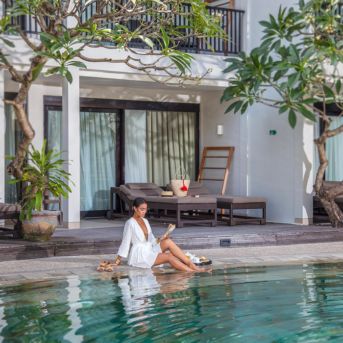 A peaceful escape in the heart of Bali.