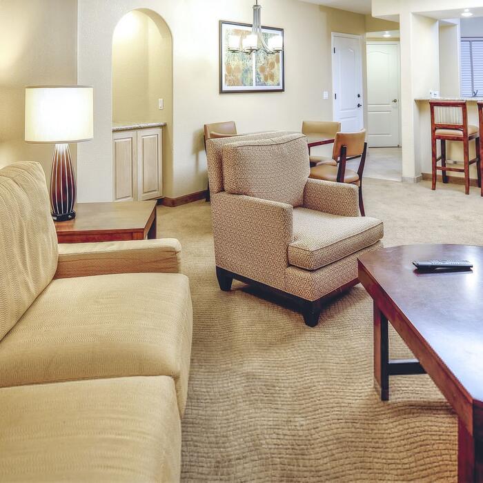 Sedona Summit Suite Sitting Area