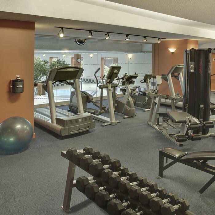 Hotel Halifax Fitness Area