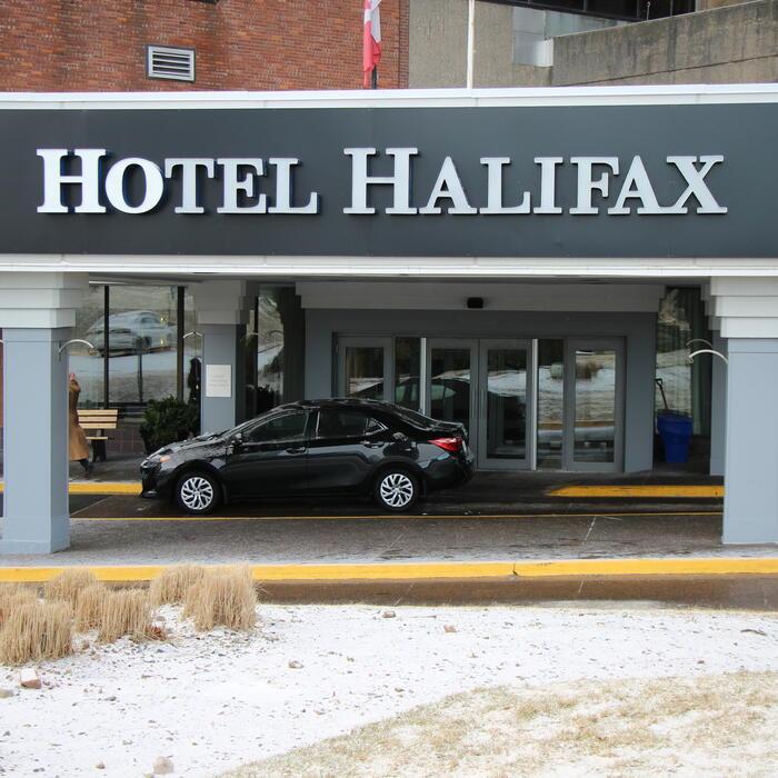 Hotel Halifax Signage