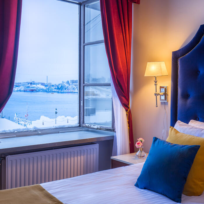 Room views at Hotel Gamla Stan in Stockholm