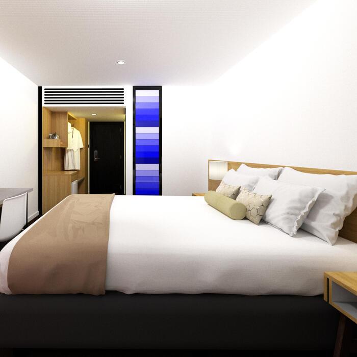 Guest Room at Jasper Hotel Melbourne