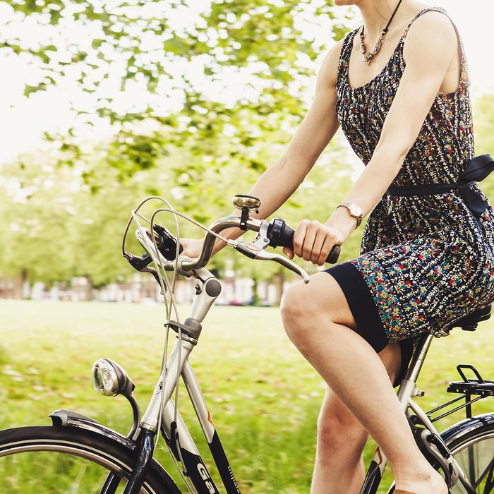 vélo pour faire une ballade dans la région de thiers