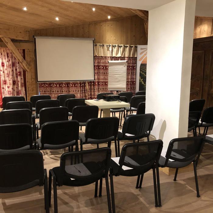 Seminar at Chalet Hôtel La Chemenaz in Les Contamines-Montjoie