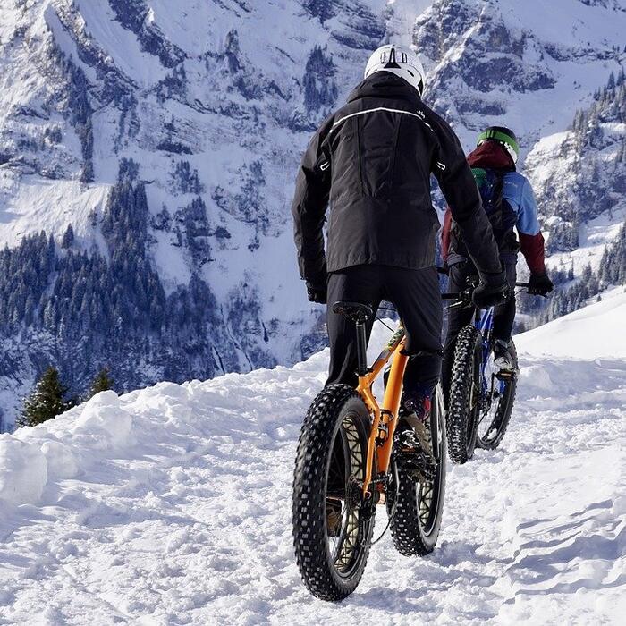 vtt électrique fat bike neige montagne vettetiste activites hotel les gentianettes