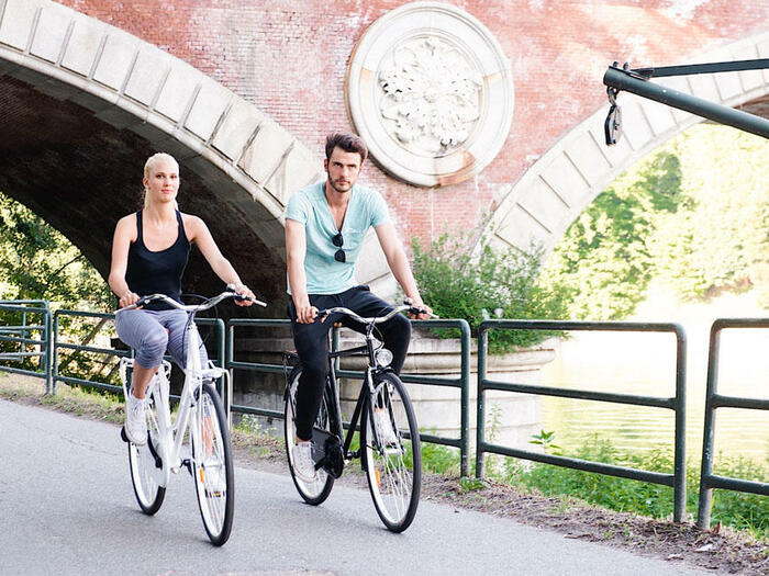 Offerta hotel con biciclette incluse Torino