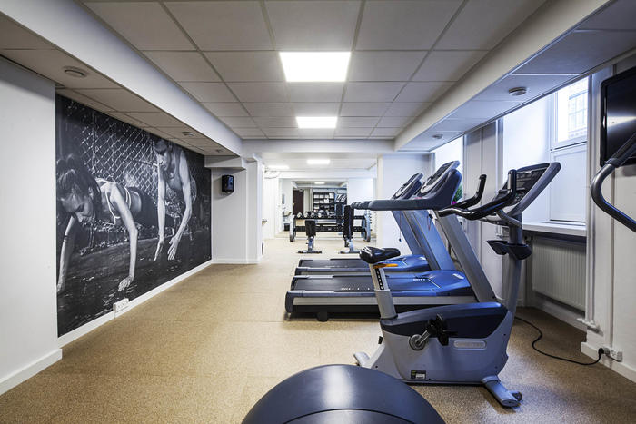 Gym at Hotel Mayfair Copenhagen
