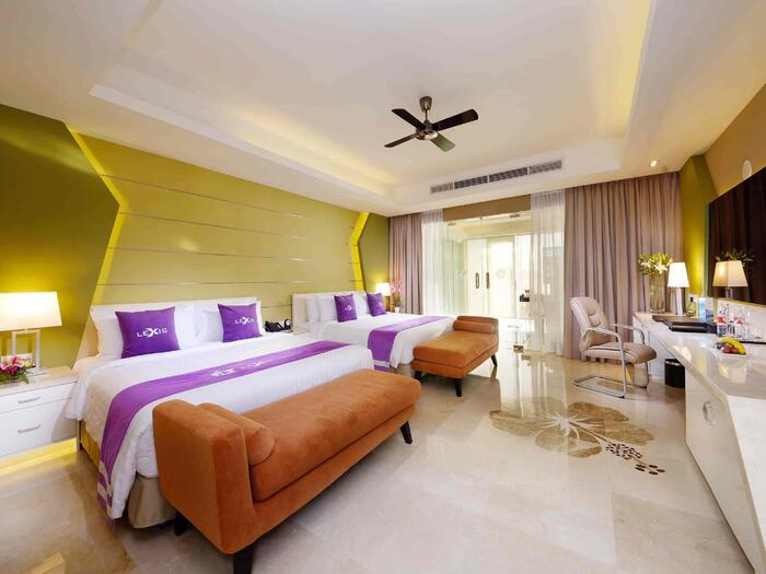 Sea view Premium Pool Villa Room with 2 king size beds - Lexis H