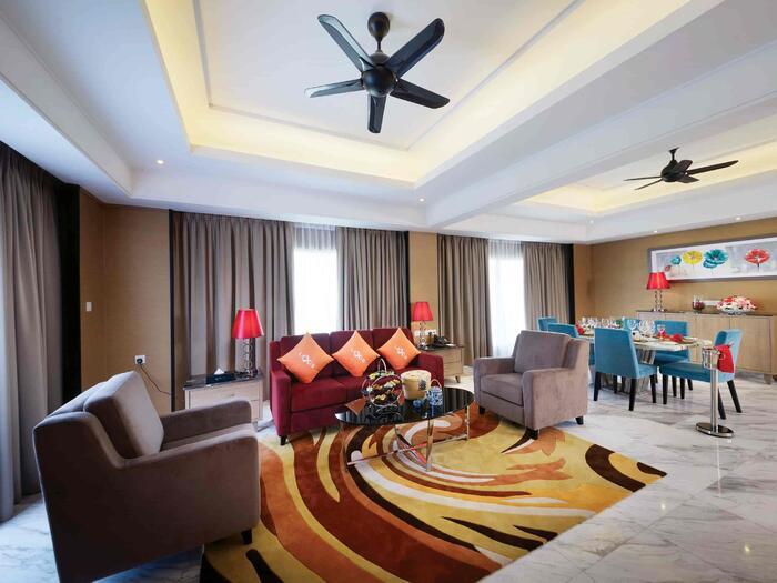 Imperial Suite living area - Lexis Hibiscus® Port Dickson