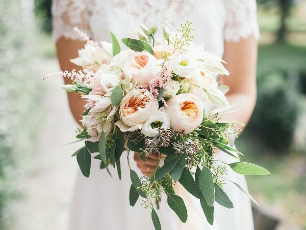 Flower Bouquet of the bride -  The Magnolia Hotel