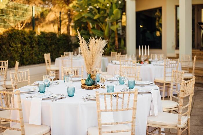 Dining tables for function - The Magnolia Hotel