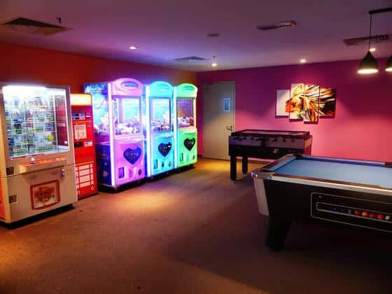 Games Room in Lexis Suites Penang