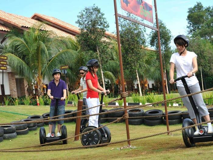 Segway Fun Ride at Grand Lexis Port Dickson