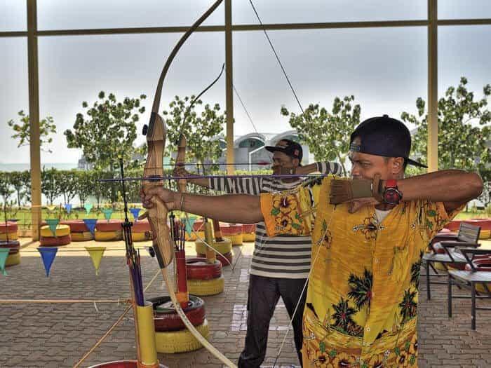 Archery Recreational Activity at Grand Lexis Port Dickson