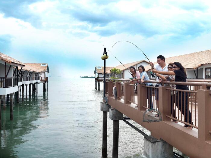 Fishing & Crabbing Activities at Grand Lexis Port Dickson