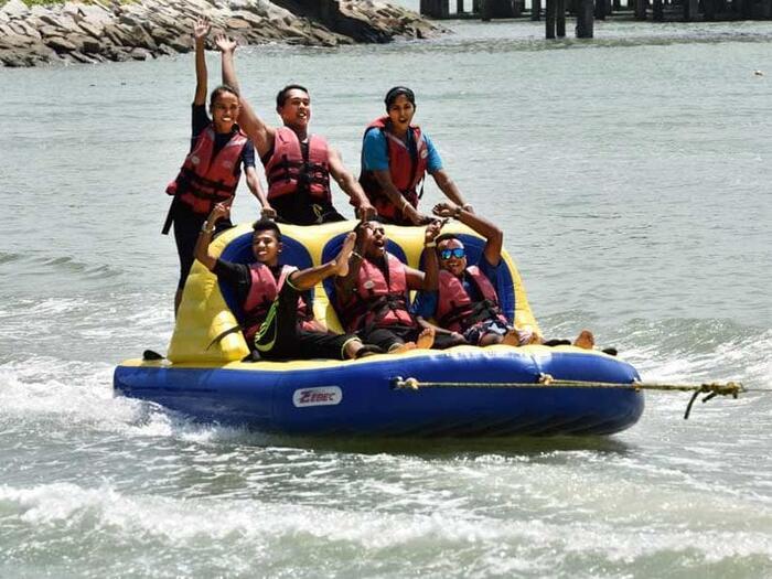 Bandwagon Water Tube Ride Activities at Grand Lexis Port Dickson