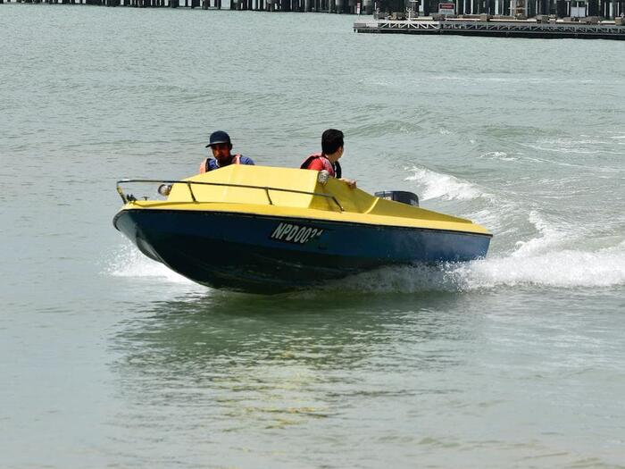 Motorboat Ride Activities at Grand Lexis Port Dickson