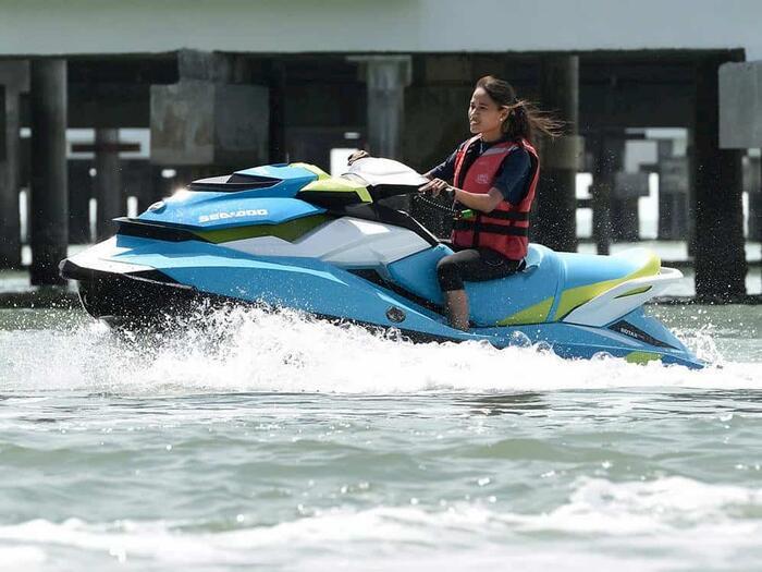 Jet Ski Water Ride at Port Dickson