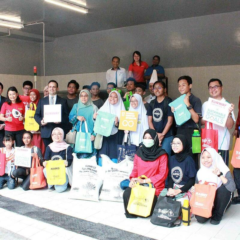Compost for a Greener Tomorrow at Sunway Resort Hotel and Spa