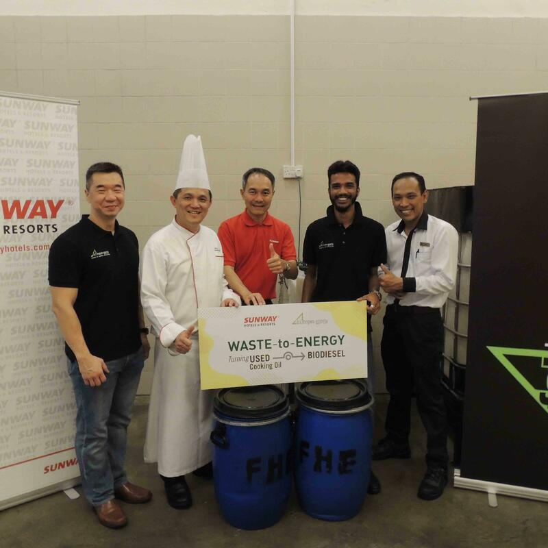 Fat Hopes Energy for Fuel at Sunway Resort Hotel and Spa