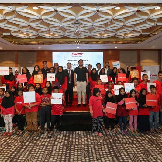 SOAPFUL FOR THE COMMUNITY AT SUNWAY RESORT HOTEL & SPA