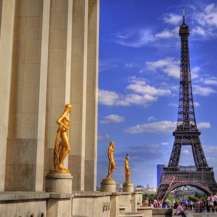 Champs de Mars Trocadero