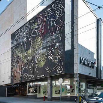 Centre commercial Manor Genève