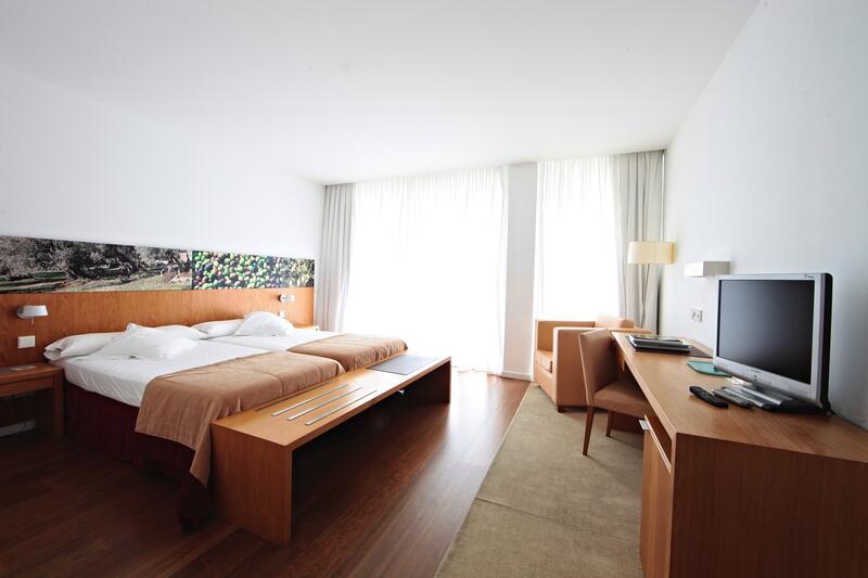 Habitación superior con vistas al mar en el Hotel Aimia en Port