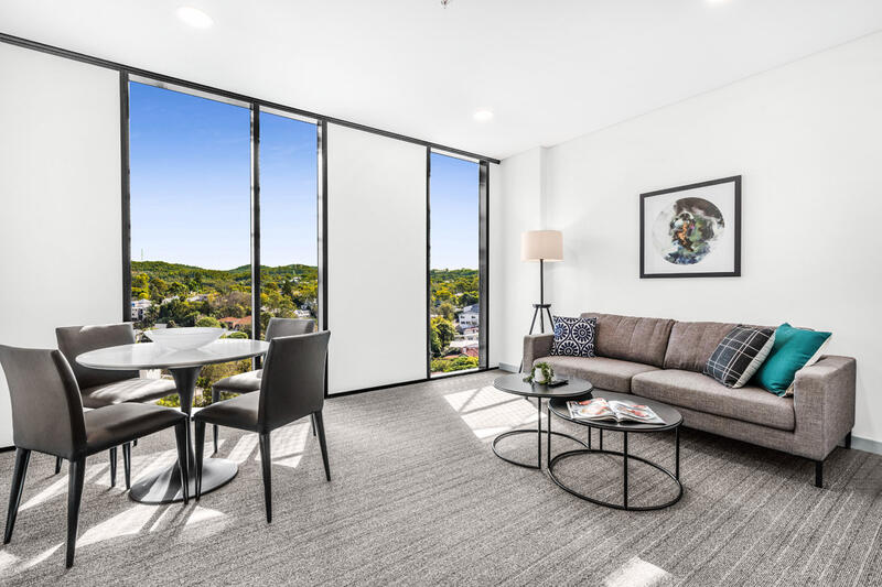Living Room | Serviced Apartments Brisbane | Essence Apartments