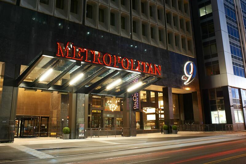 Exterior of the Metropolitan at The 9