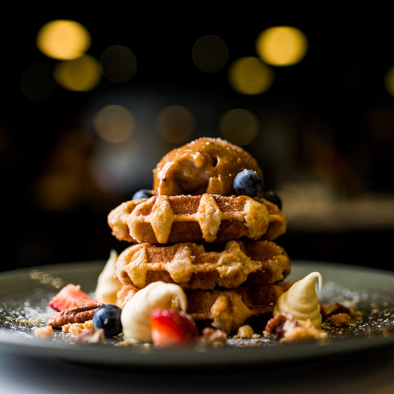 Waffels at Jasper Hotel Melbourne