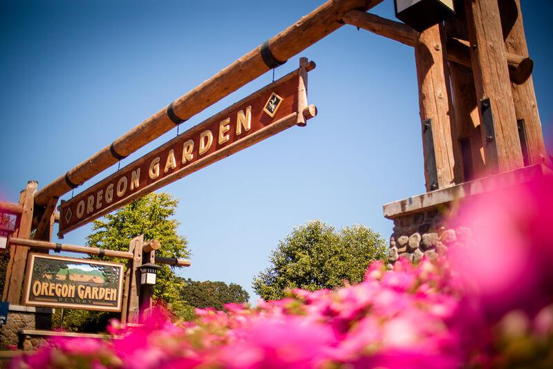 Entrance to Oregon Garden